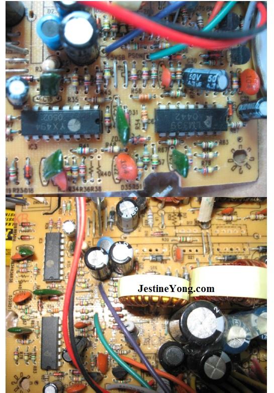 repair 400w pc power supply