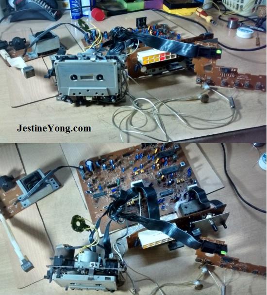Technics RS-B305  repair