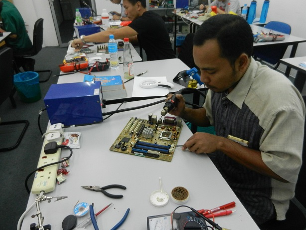 smd rework station training