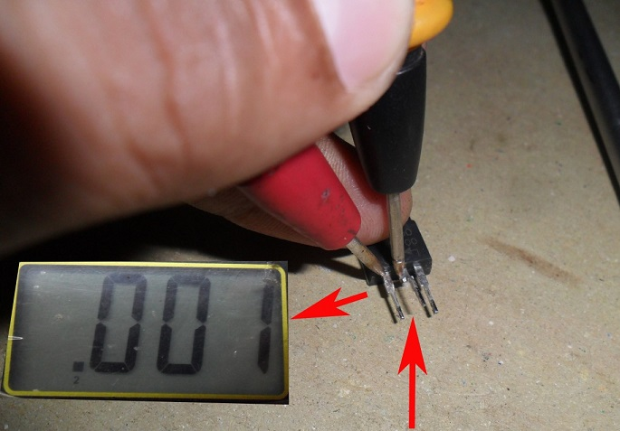 how to check schottky diode