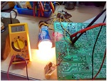 series light bulb test