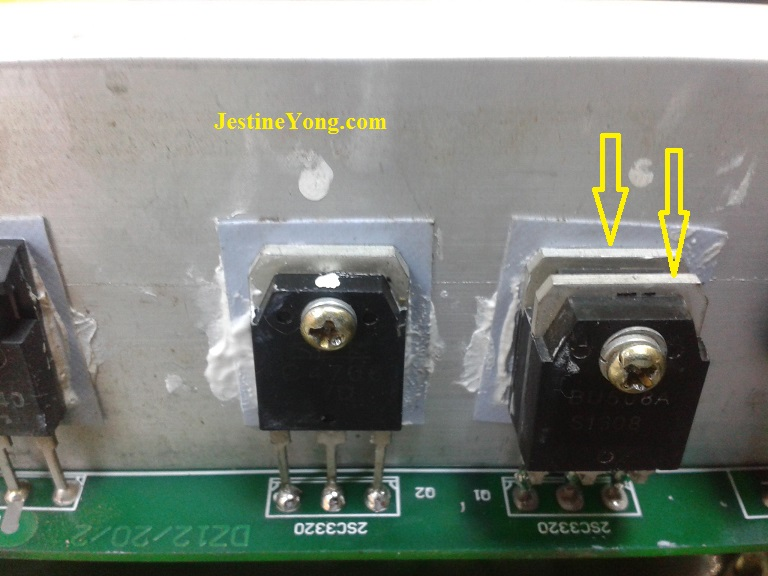 double transistor
