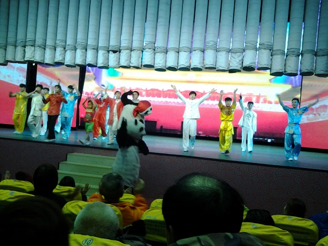 kungfu panda wushu show in china