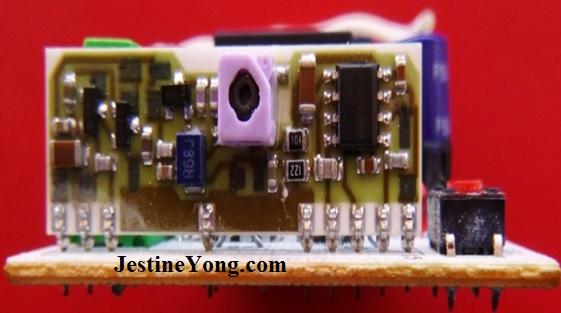 SEAV LRX 2137 Garage door remote control system repairing