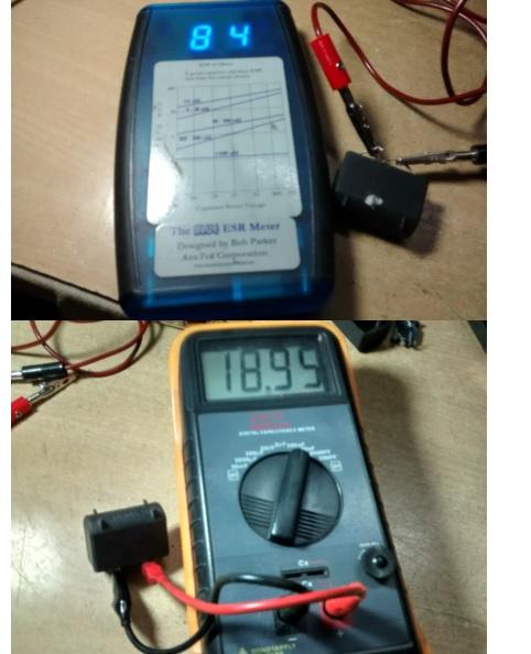 capacitor meter