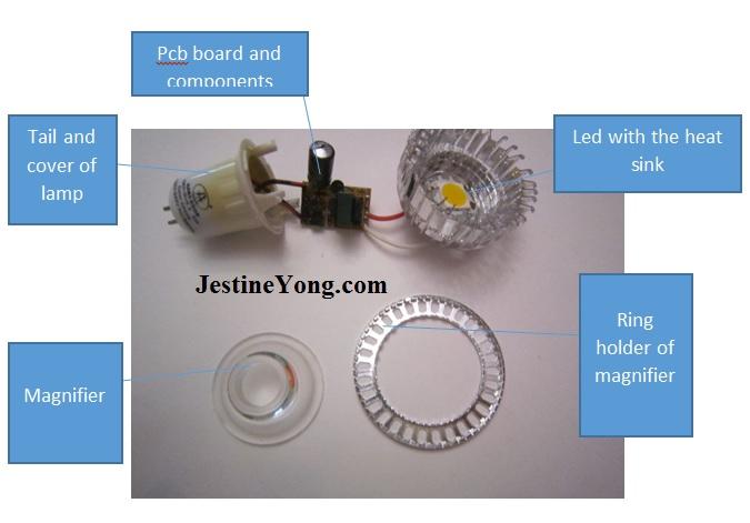 led lamp repairing