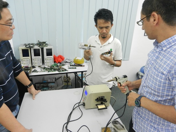 industrial electronic training  course