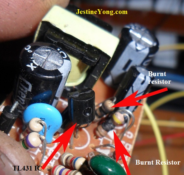 keyboard power supply repair