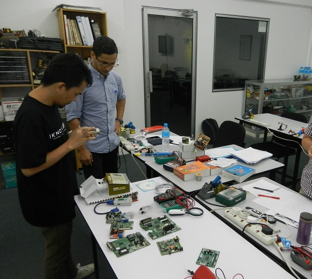 industrial electronic training  courses