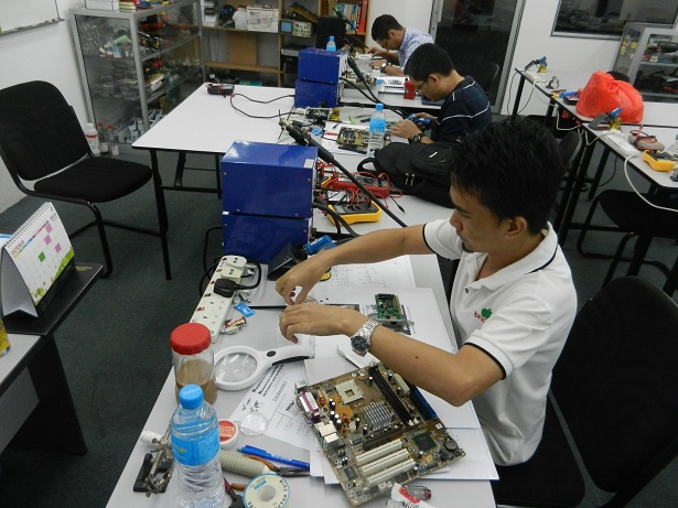 industrial electronic course training