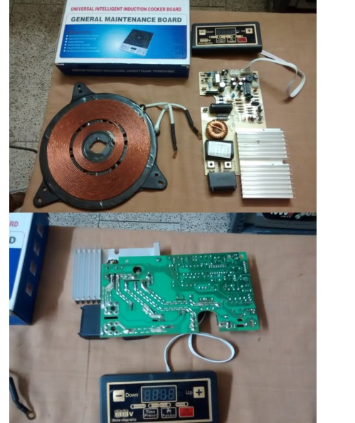 induction cooker parts