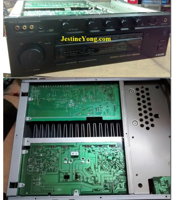 Chattering Relay Problem In Sony Surround System Solved