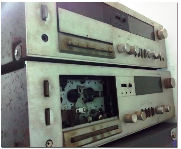 amplifier repairing