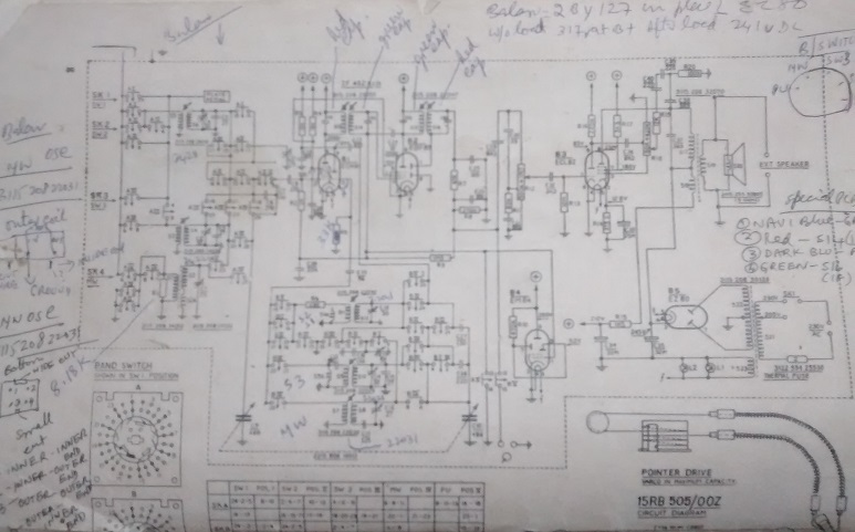 valve schematic radio