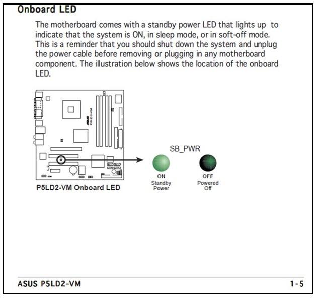 motherboard user manual