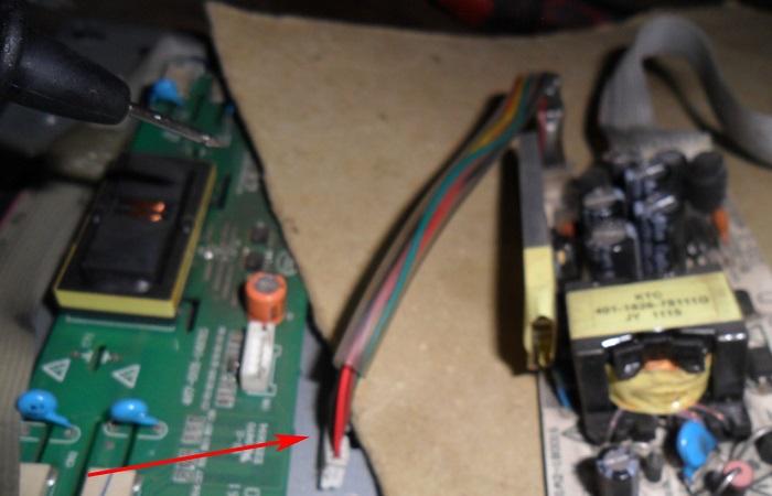 inverter board short