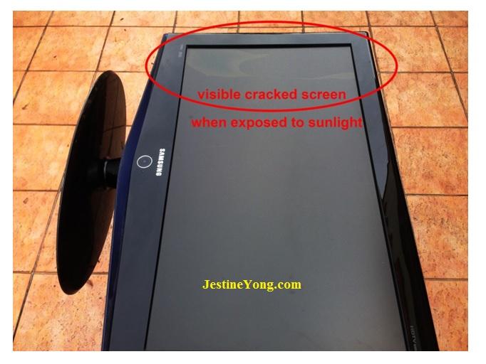 detect bad lcd screen