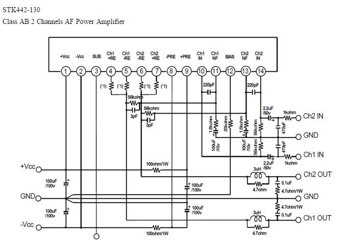 stk442-130 datasheet