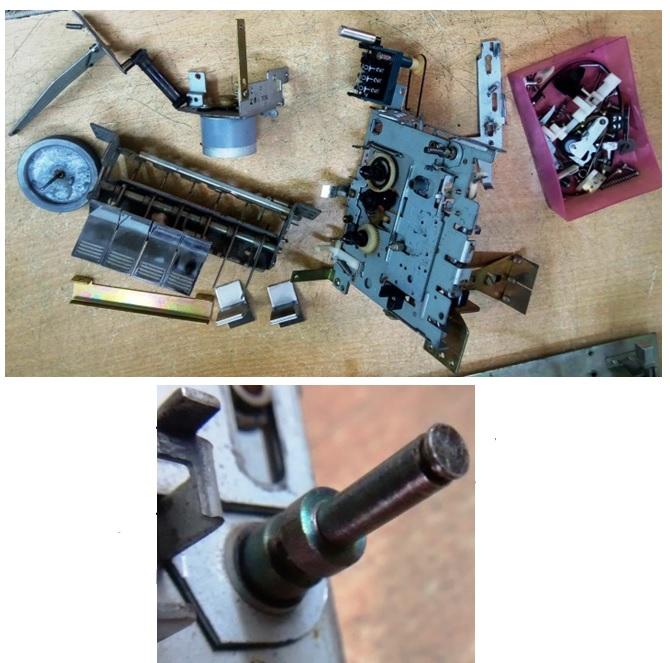 roller cassette deck repair