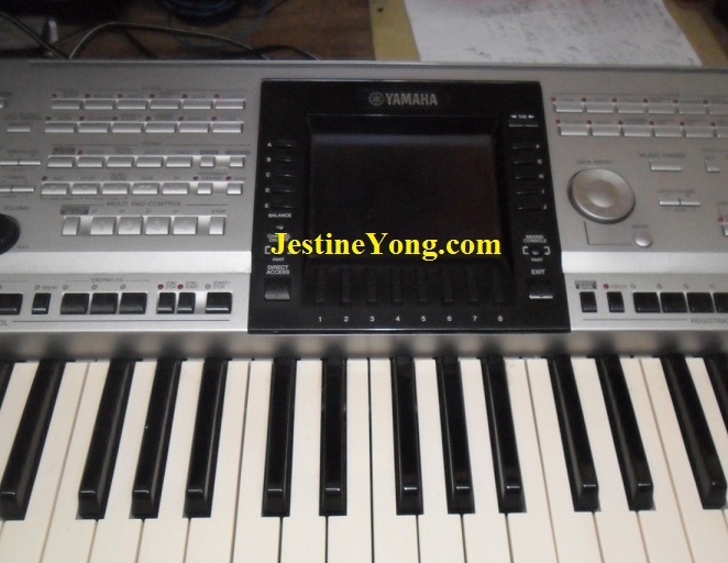 where to find the power blinking fault in yamaha psr 3000. Black Bedroom Furniture Sets. Home Design Ideas