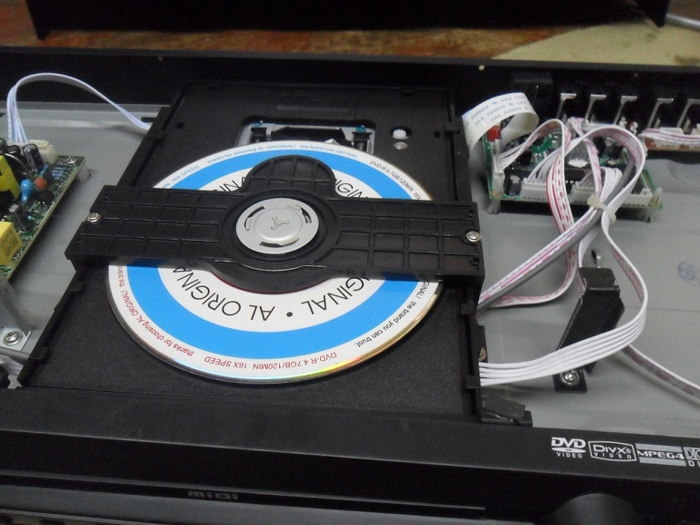 NO DISK IN DVD REPAIRING