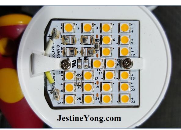 led bulb components