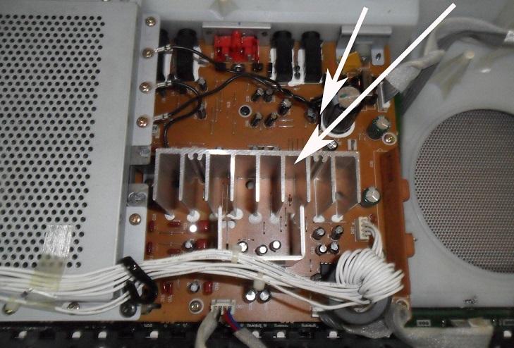 Yamaha PSR-3000 Keyboard circuit board