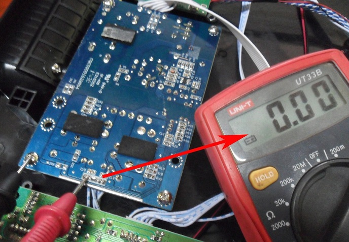 onboard voltage checking