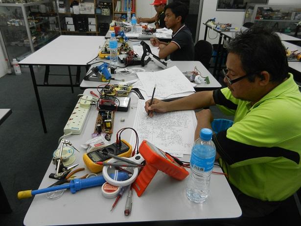 kursus membaiki sijil elektronic