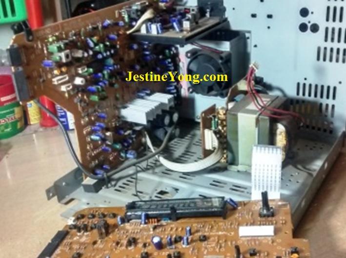 jvc hifi system repair