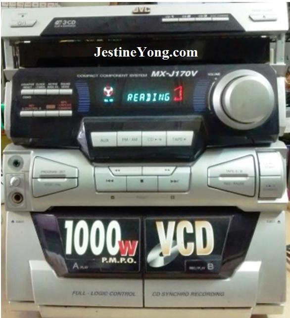 Restoration of JVC MX-J170V Component System | Electronics Repair