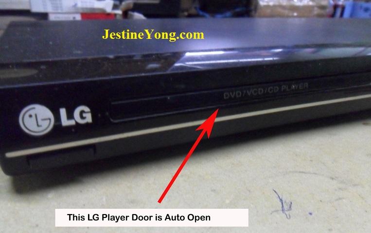 lg dvd repair