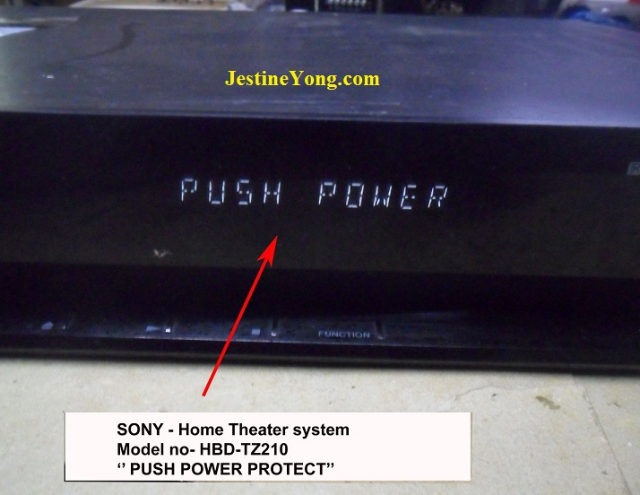 Push Power Protect HBD-TZ210 Repair