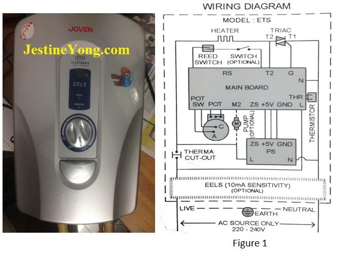 joven water heater repair
