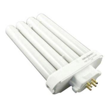 4 tubes fluorescent lamp