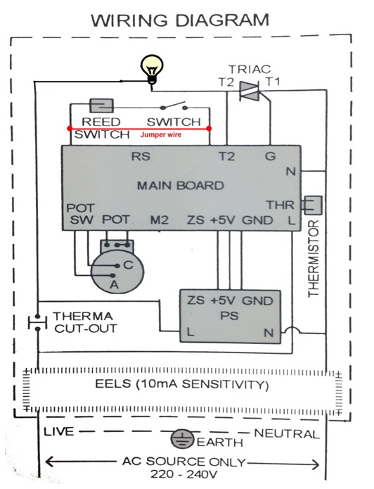 useful bulb testing method to solve household instant water shower heater electronics repair