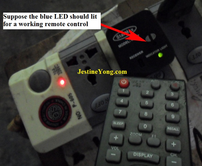 not working remote control