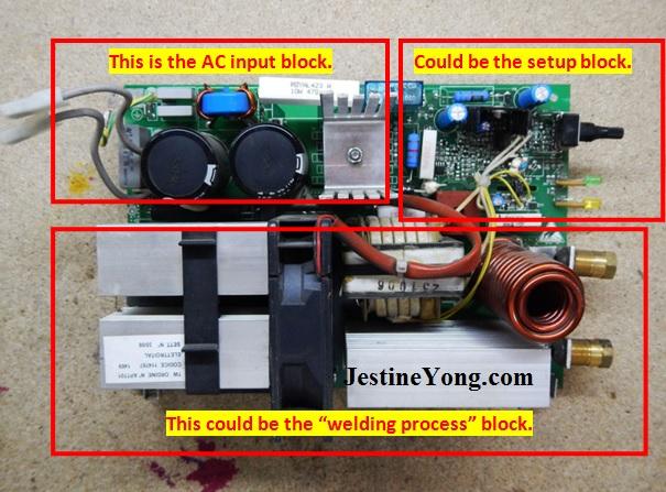 welding machine power supply repair