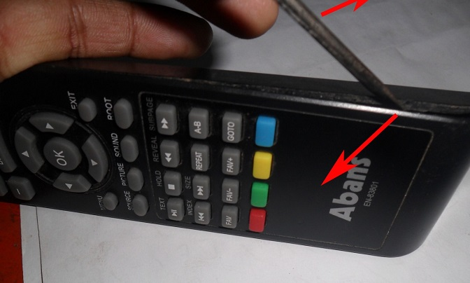 how to open remote control