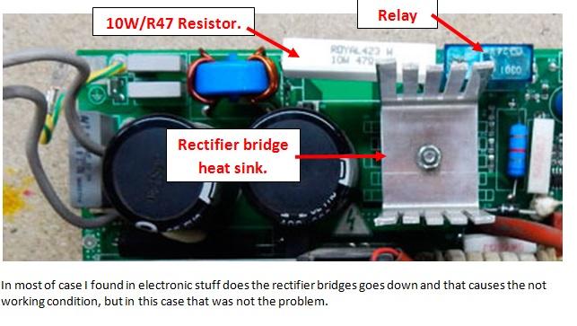 tecnica 164 power supply repair