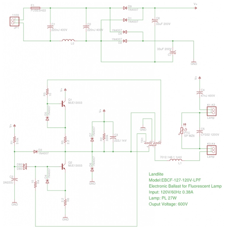 120v 60hz wiring diagram