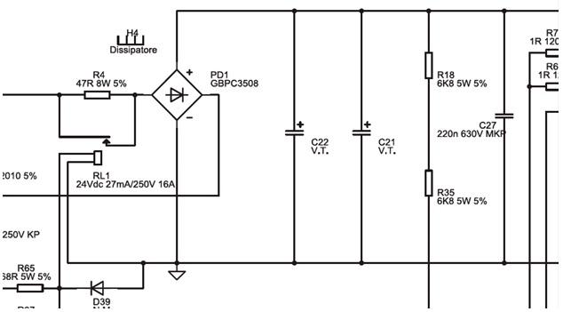 welding machine circuit