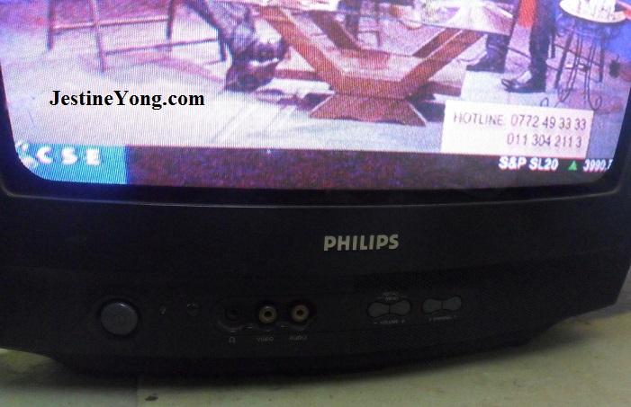 repairing crt tv philips