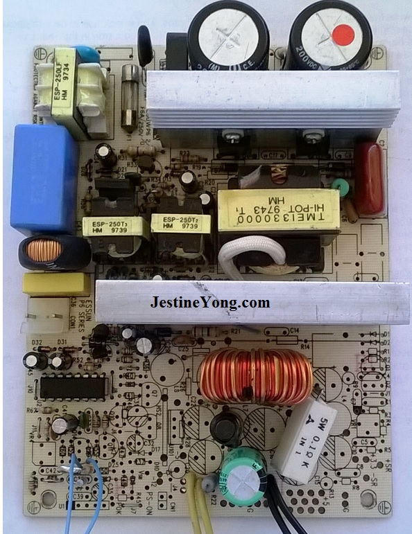 atx power supply circuit board