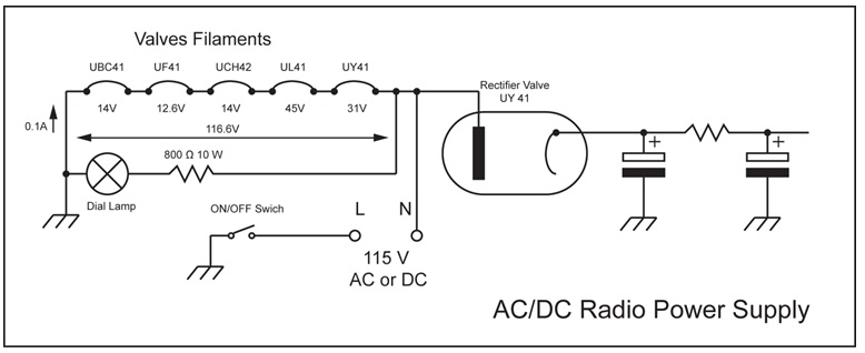ac dc radio power supply