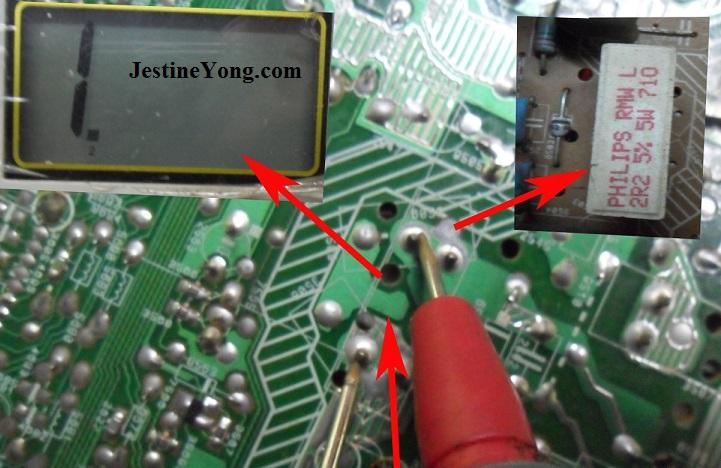 wire wound resistor open