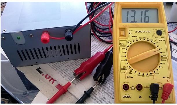 checking atx voltage