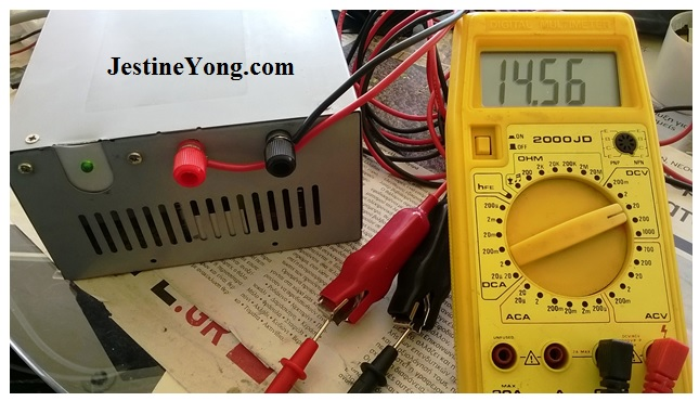 measuring power supply voltage