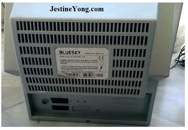 Bluesky BST 2104, CRT TV, not working repair
