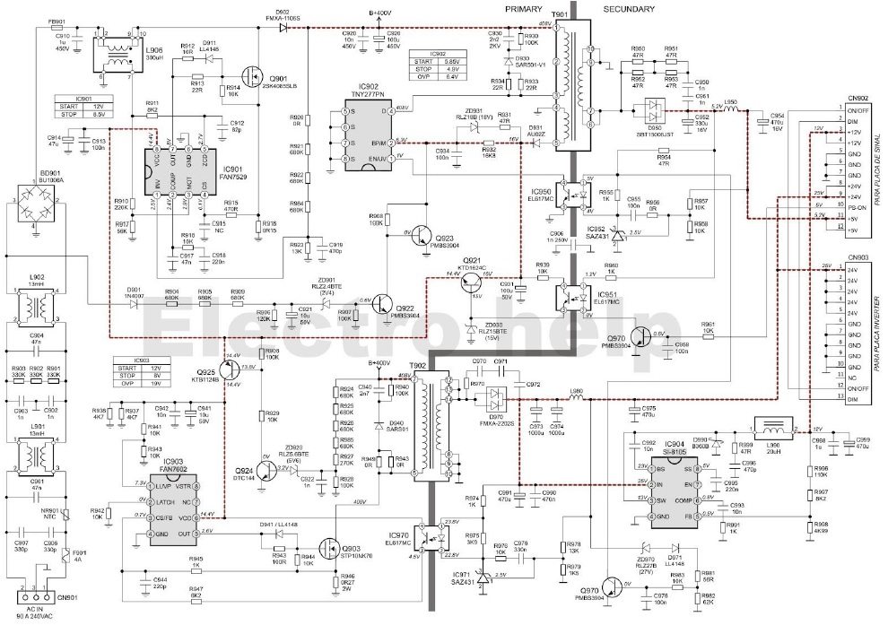 Computer Atx Power Supply Circuit Diagram Lm339n Circuit Diagram Atx ...